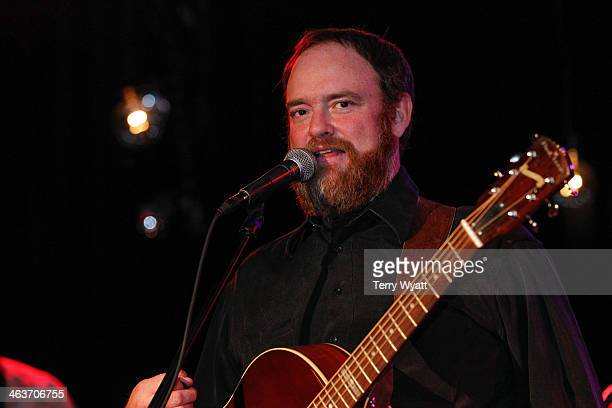 John Carter Cash performs at The Rutledge on January 18 2014 in Nashville Tennessee