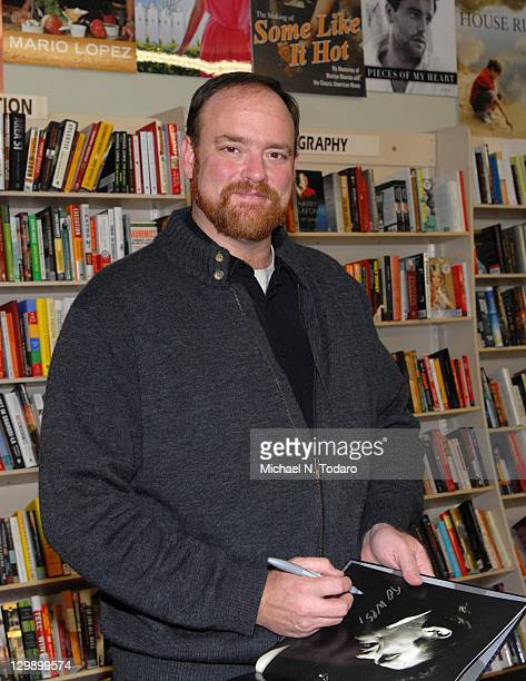 John Carter Cash promotes the new book House of Cash at Bookends Bookstore on October 21 2011 in Ridgewood New Jersey