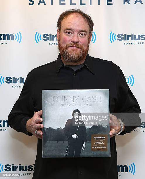 John Carter Cash visits at SiriusXM Studios on March 24 2014 in New York City