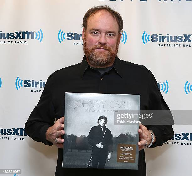 John Carter Cash visits at SiriusXM Studios on March 24, 2014 in New York City.