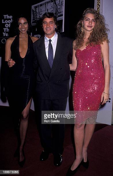 John Casablancas attends Look of the Year Elite Models Party on May 1 1991 at the Plaza Hotel in New York City