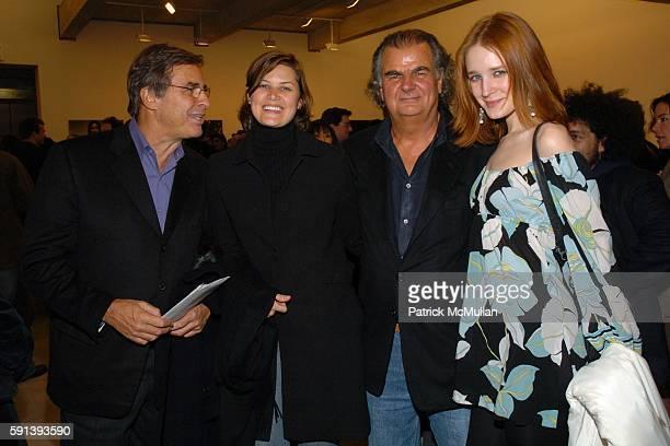 John Casablancas Ilena Casablancas Patrick Demarchelier and Lelle Mouliartchik attend Pirelli Presents The 2005 Calendar Shot by Patrick Demarchelier...
