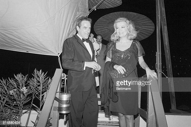 John Cassavetes Gena Rowlands Stock Photos and Pictures ...