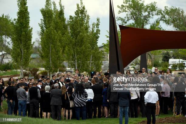 John Castillo and his wife Maria laid to rest their son Kendrick Castillo who was killed during the STEM School Highlands Ranch shooting at the Seven...