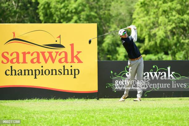 John Catlin of USA pictured during the final round of the Sarawak Championship at Damai Golf and Country Club on July 7 2018 in Kuching Sarawak...