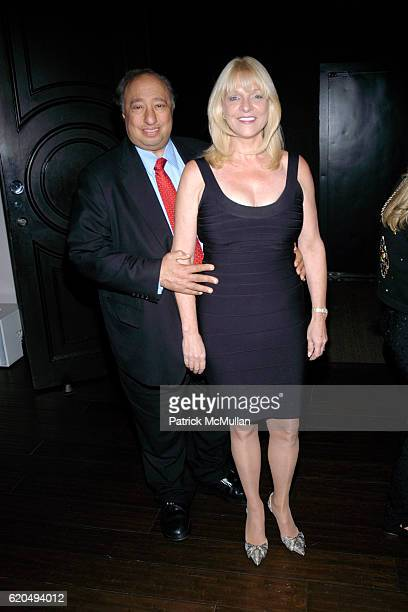 John Catsimatidis and Margo Catsimatidis attend Cocktail Reception for 2008 Alzheimer's Association Rita Hayworth Gala at Naeem Khan Studio on...