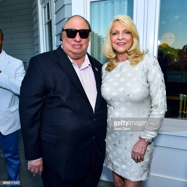 John Catsimatidis and Margo Catsimatidis attend Jean And Martin Shafiroff Host Cocktails For Stony Brook Southampton Hospital on June 30 2018 in...
