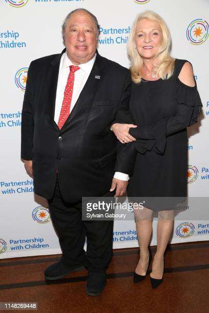 John Catsimatidis and Margo Catsimatidis attend Partnership With Children Spring Gala at 583 Park Avenue on June 4 2019 in New York City