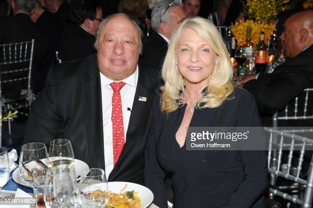 John Catsimatidis and Margo Catsimatidis attend the 2019 New York City Police Foundation Gala at New York Hilton Midtown on April 30 2019 in New York...