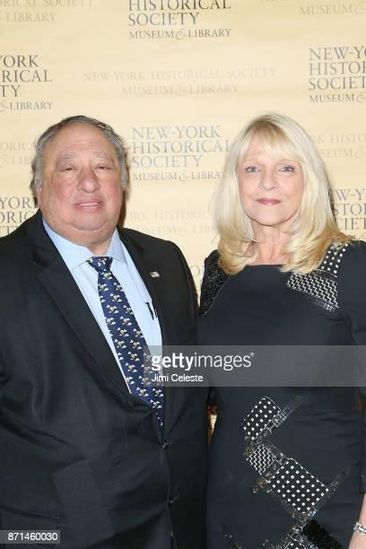 John Catsimatidis and Margo Catsimatidis attend the NewYork Historical Society's History Makers Gala 2017 at Cipriani 25 Broadway on November 7 2017...