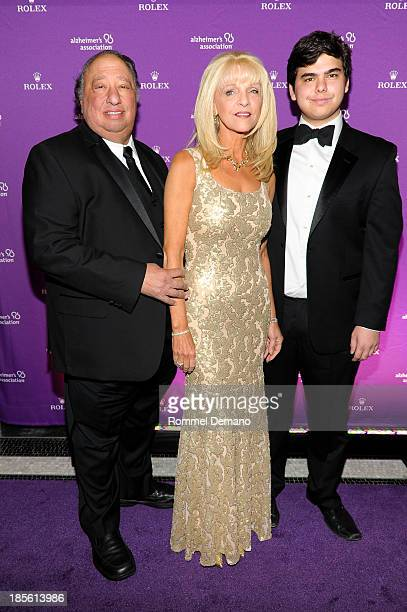 John Catsimatidis Margo Catsimatidis and John Catsimatidis Jr attend 2013 Alzheimer's Association Rita Hayworth 30th Anniversary gala at The Waldorf...