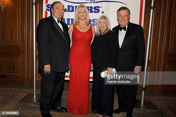 John Catsimatidis Margo Catsimatidis Lorri Scott and Marvin Scott attend The Soldier's Sailor's Marine's Coast Guard and Airmen's Club Salutes The...