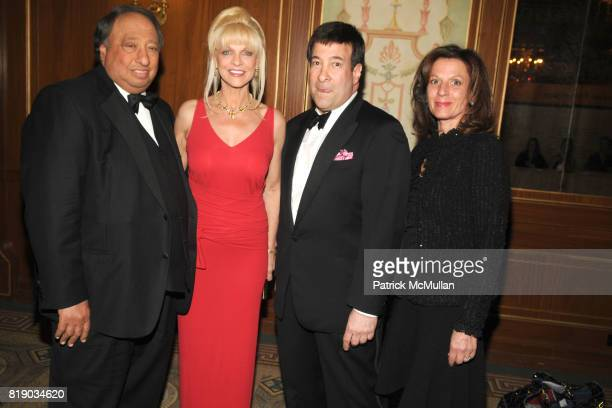 John Catsimatidis Margo Catsimatidis Mark Simone and Mary Sliwa attend Bal du Printemps Gala Benefitting PARKINSON'S DISEASE FOUNDATION at The Pierre...