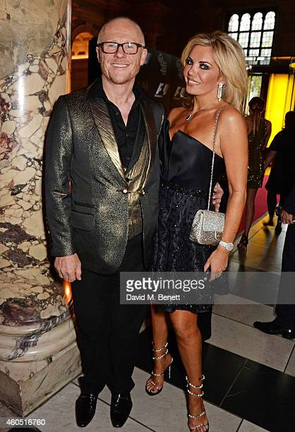 John Caudwell and Claire Caudwell attend The F1 Party in aid of the Great Ormond Street Children's Hospital at the Victoria and Albert Museum on July...