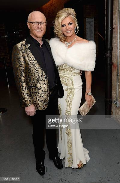 John Caudwell and Claire Caudwell attend The Global Angel Awards at the Roundhouse on November 15 2013 in London England