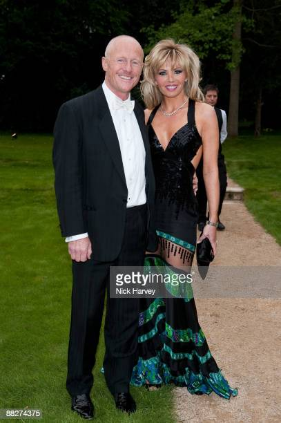 John Caudwell and Claire Johnson arrive at the Fourth Annual Fundraising Gala Dinner for the Raisa Gorbachev Foundation at the Stud House Hampton...
