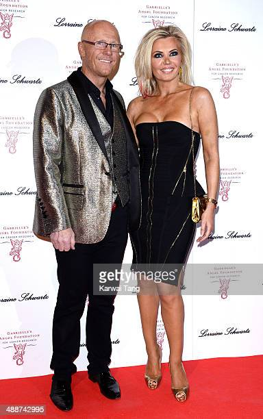 John Caudwell and Claire Johnson attend Gabrielle's Gala at Old Billingsgate Market on May 7 2014 in London England Gabrielle's Gala is an annual...