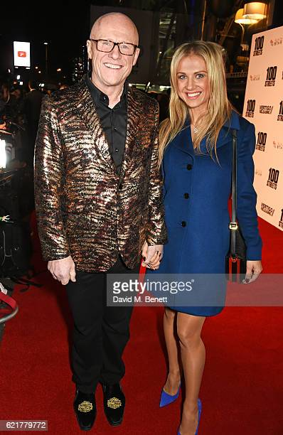 John Caudwell and Modesta Vzesniauskaite attend the UK Premiere of 100 Streets at the BFI Southbank on November 8 2016 in London United Kingdom