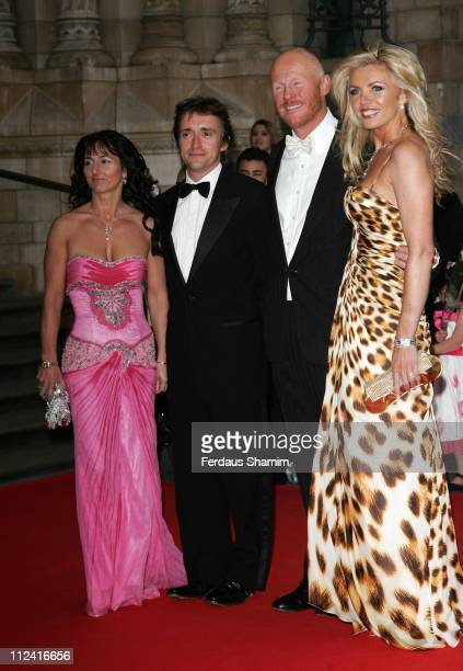 John Caudwell Richard Hammond and guests during The Bedrock Ball Red Carpet Arrivals at Natural History Museum in London Great Britain