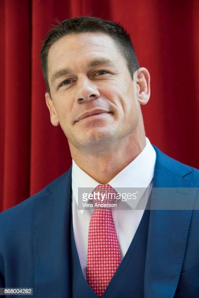 John Cena at the 'Ferdinand' press conference at Twentieth Century Fox Studio on October 28 2017 in Century City California
