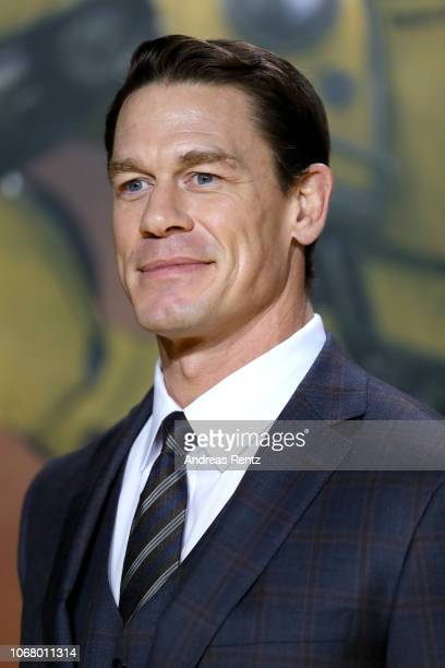 John Cena attends a special screening of 'Bumblebee' at on December 3 2018 in Berlin Germany