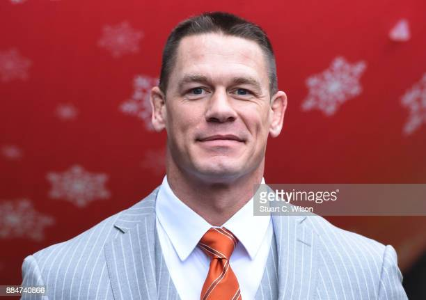 John Cena attends the 'Ferdinand' special screening at BFI Southbank on December 3 2017 in London England
