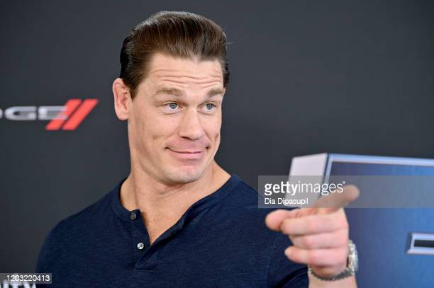 "John Cena attends ""The Road to F9"" Global Fan Extravaganza at Maurice A. Ferre Park on January 31, 2020 in Miami, Florida."