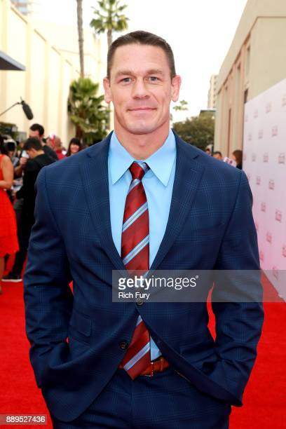 John Cena attends the screening of 20th Century Fox's 'Ferdinand' at Zanuck Theater at 20th Century Fox Lot on December 10 2017 in Los Angeles...