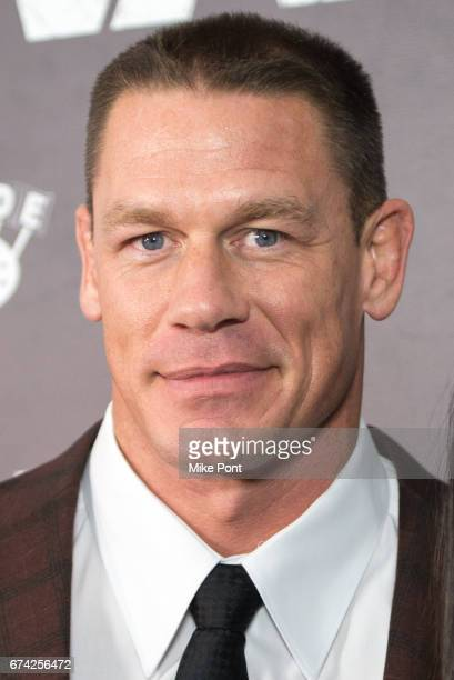 John Cena attends 'The Wall' World Premiere at Regal Union Square Theatre Stadium 14 on April 27 2017 in New York City