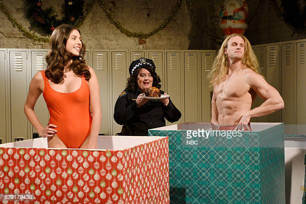 LIVE 'John Cena' Episode 1713 Pictured Aidy Bryant as Fats during the 'Dyke Fats Save Christmas' sketch on December 10 2016
