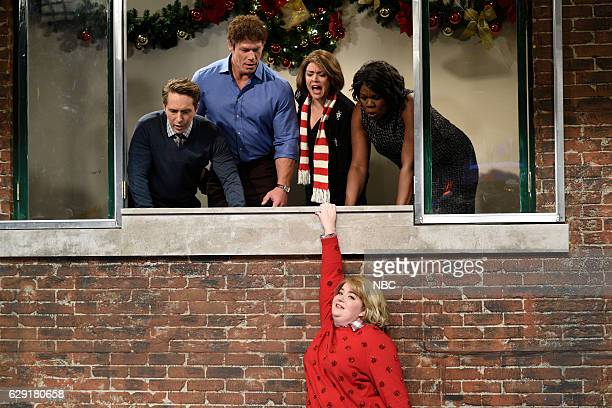 LIVE John Cena Episode 1713 Pictured Beck Bennett John Cena Cecily Strong Aidy Bryant as Joanne and Leslie Jones during the Joanne The Tree sketch on...
