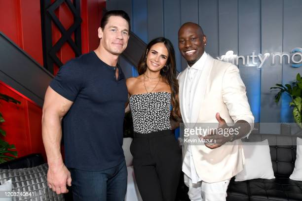 John Cena Jordana Brewster and Tyrese Gibson attend Universal Pictures Presents The Road To F9 Concert and Trailer Drop on January 31 2020 in Miami...