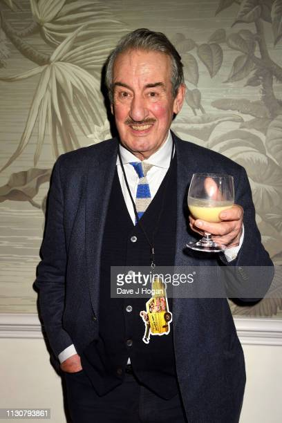 John Challis attends the after show party following the opening night of Only Fools and Horses The Musical at Theatre Royal Haymarket on February 19...