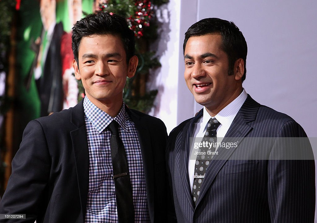 john cho and kal penn arrive at the a very harold kumar 3d christmas - Harold And Kumar 3d Christmas