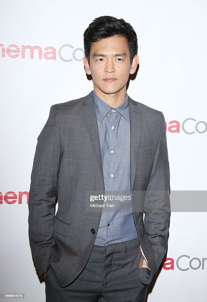 John Cho arrives at a Paramount Pictures presentation to promote upcoming films, held at Caesars Palace during CinemaCon, the official convention of the National Association of Theatre Owners on April 15, 2013 in Las Vegas, Nevada.