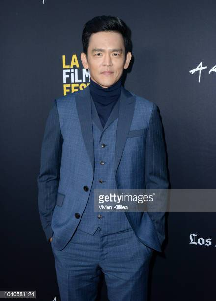 John Cho attends LA Film Festival World Premiere Gala Screening Of THE OATH on September 25 2018 in Los Angeles California