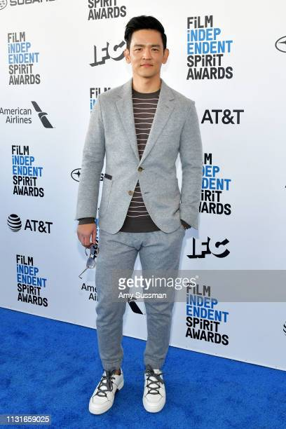 John Cho attends the 2019 Film Independent Spirit Awards on February 23 2019 in Santa Monica California