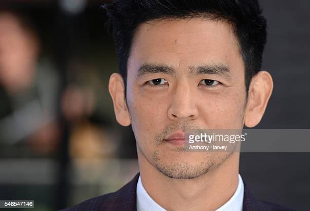 John Cho attends the UK premiere of 'Star Trek Beyond' on July 12 2016 in London United Kingdom