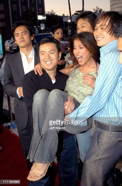 John Cho Justin Lin Karin Anna Cheung and Roger Fan