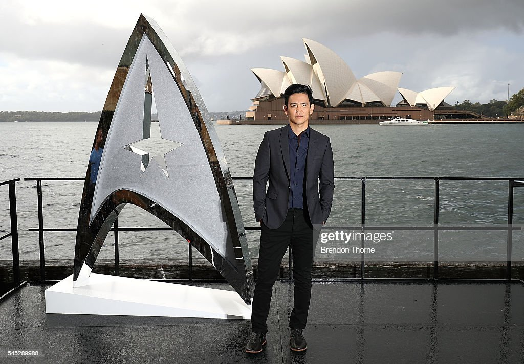 John Cho poses during a photo call for Star Trek Beyond on July 7, 2016 in Sydney, Australia.