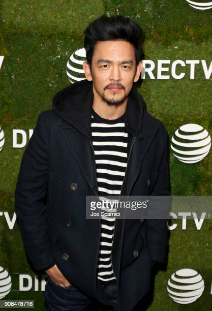 John Cho stops by DIRECTV Lodge presented by ATT during Sundance Film Festival 2018 on January 21 2018 in Park City Utah