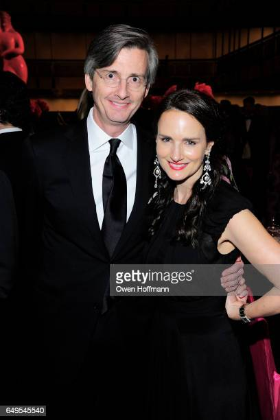 John Clark and Kristin Kennedy Clark attend The School of American Ballet's 2017 Winter Ball at David H Koch Theatre on March 6 2017 in New York City