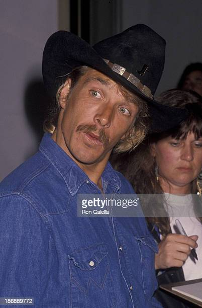 John Clark Gable attends Golden Boot Awards on July 28 1990 at the Century Plaza Hotel in Century City California