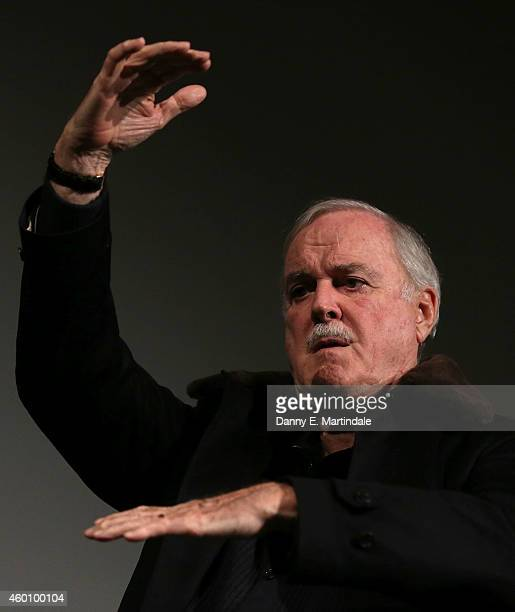 John Cleese at BFI Southbank introducing two newly rediscovered episodes of comedy classic At Last the 1948 Show at BFI Southbank on December 7 2014...