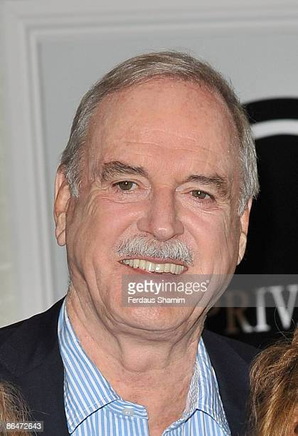 John Cleese attends GOLD's Fawlty Towers relaunch on May 6 2009 in London England