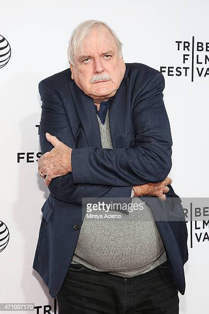 John Cleese attends the Special Screening Narrative 'Monty Python And The Holy Grail' during 2015 Tribeca Film Festival at Beacon Theatre on April 24...