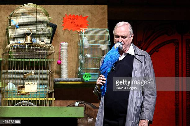 John Cleese performs on the opening night of Monty Python Live on July 1 2014 in London England