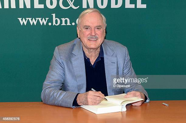 John Cleese promotes his book 'So Anyway' at Barnes Noble 5th Avenue on November 4 2014 in New York City