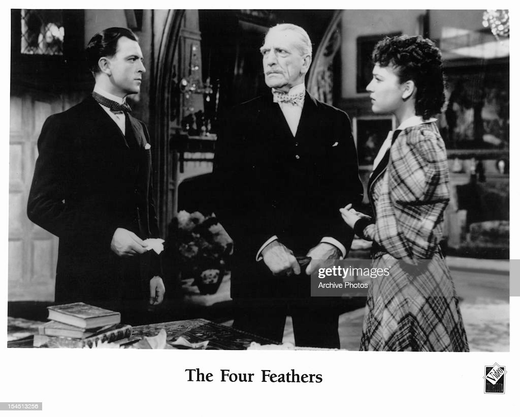 John Clements And C Aubrey Smith In 'The Four Feathers' : News Photo