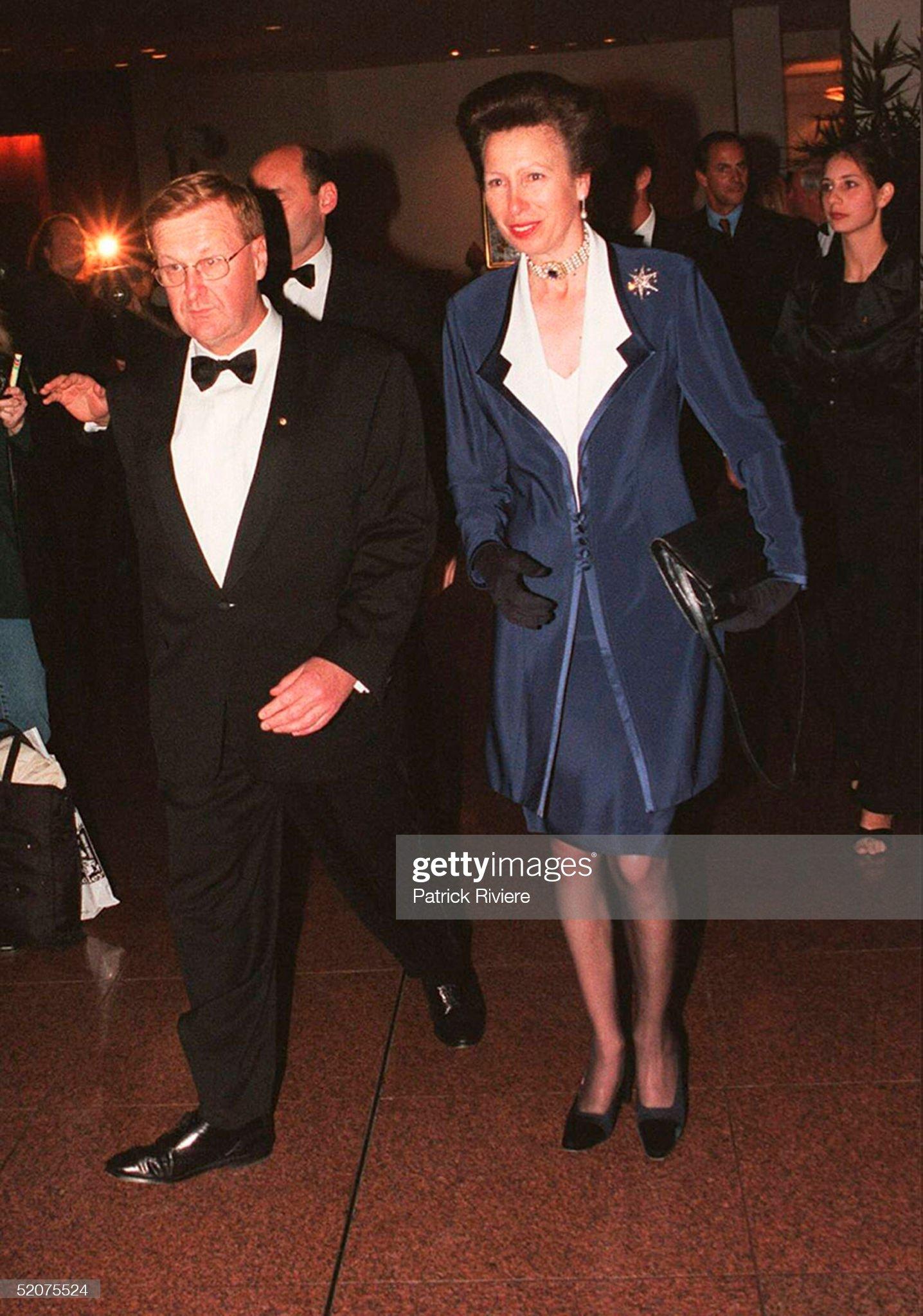 Visit of Princess Anne : News Photo